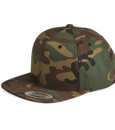 6089M Yupoong Classic Snapback Cap GREEN Under Bill