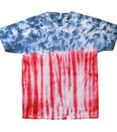 H1000b tie dye Youth Tie-Dyed Cotton Tee
