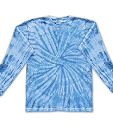C2000b tie dye Youth Cotton Long-Sleeve Tee