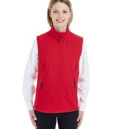 CE701W Ash City - Core 365 Ladies' Cruise Two-Layer Fleece Bonded Soft Shell Vest