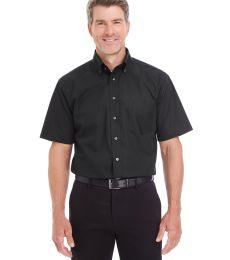 D620S Devon & Jones Men's Crown Collection™ Solid Broadcloth Short-Sleeve Shirt