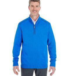 DG478 Devon & Jones Men's Manchester Fully-Fashioned Quarter-zip Sweater