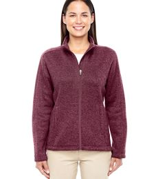 f9d29d6356 DG793W Devon   Jones Ladies  Bristol Full-Zip Sweater Fleece Jacket