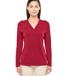 DP186W Devon & Jones Ladies' Perfect Fit™ Y-Placket Convertible Sleeve Knit Top
