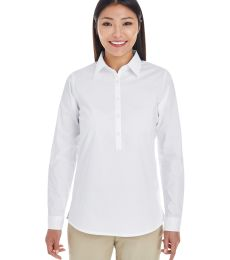 DP610W Devon & Jones Ladies' Perfect Fit™ Half-placket Tunic Top
