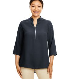 Devon and Jones DP611W Ladies' Perfect Fit™  3/4-Sleeve Crepe Tunic
