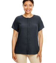 Devon and Jones DP612W Ladies' Perfect Fit™  Short-Sleeve Crepe Blouse