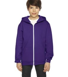 F297W Youth Flex Fleece Zip Hoodie