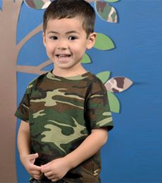 3315 Code V Toddler Camouflage T-shirt
