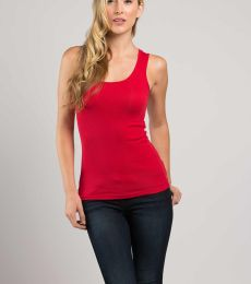 Cotton Heritage L7703 2x1 Rib Scoop Neck Tank