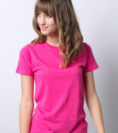 LC1026 Cotton Heritage Madison Crewneck Boyfriend Tee