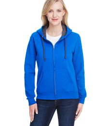 50 LSF73R Women's Sofspun® Full-Zip Hooded Sweatshirt