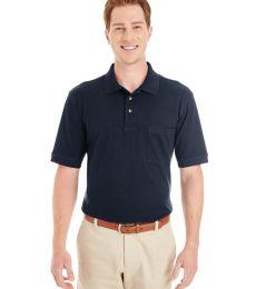 Harriton M200P Adult 6 oz. Ringspun Cotton Piqué Short-Sleeve Pocket Polo