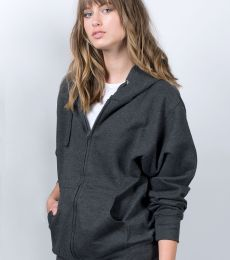 M2700 Cotton Heritage Springfield Unisex Zip Up Hoodie