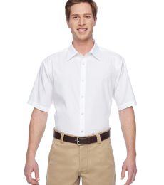 Harriton M545 Men's Advantage Snap Closure Short-Sleeve Shirt
