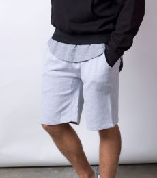 M7640 Cotton Heritage Fleece Rib Jogger Shorts