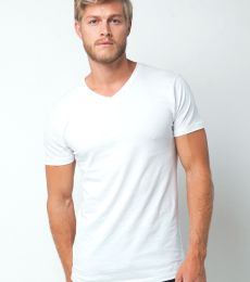 MC1047 Cotton Heritage Men's Chicago Cotton V-Neck Tee