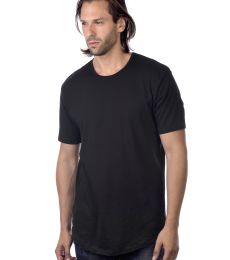 MC1050 Cotton Heritage Drop Tail Crew Neck T-shirt