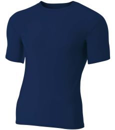 N3130 A4 Short Sleeve Compression Crew