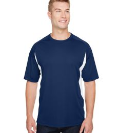 N3181 A4 Adult Cooling Performance Color Block Short Sleeve Crew