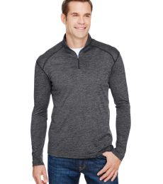 A4 Apparel N4010 Men's Tonal Space-Dye Quarter-Zip