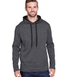 A4 Apparel N4103 Men's Tonal Space Dye-Tech Fleece Hoodie
