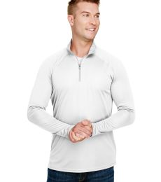 A4 Apparel N4268 Adult Daily Polyester 1/4 Zip