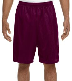 N5296 A4 Adult Lined Tricot Mesh Shorts