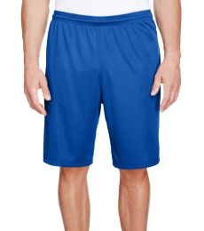 N5338 A4 Drop Ship Men's 9 Inseam Pocketed Performance Shorts
