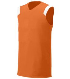 NB2340 A4 Youth Moisture Management V-neck Muscle