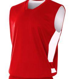 NB2349 A4 Drop Ship Youth Reversible Speedway Muscle Shirt