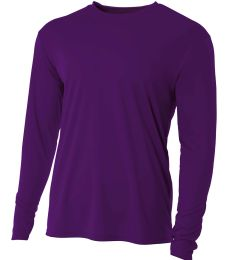 NB3165 A4 Youth Cooling Performance Long Sleeve Crew