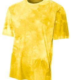 NB3295 A4 Drop Ship Youth Cloud Dye T-Shirt