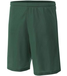 NB5184 A4 6 Inch Youth Lined Micromesh Shorts
