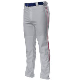 NB6162 A4 Youth Pro Style Open Bottom Baggy Cut Baseball Pants