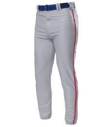 NB6178 A4 Youth Pro Style Elastic Bottom Baseball Pant