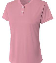 A4 Apparel NG3143 Girl's Tek 2-Button Henley Shirt