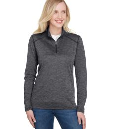 A4 Apparel NW4010 Ladies' Tonal Space-Dye Quarter-Zip