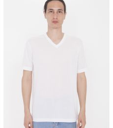 American Apparel PL4321W Unisex Sublimation Short-Sleeve Classic V-Neck T-Shirt
