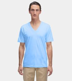 Los Angeles Apparel 24056 Fine Jersey V-Neck Tee