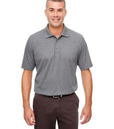 UltraClub UC100 Men's Heathered Pique Polo