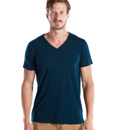 US Blanks US2228O Men's 5.2 oz. Short-Sleeve Triblend Layer-Dyed V-Neck
