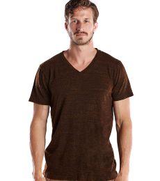 US Blanks US2228O Men's 5.2 oz. Short-Sleeve Triblend Layer-Dyed V-Neck