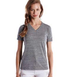 US Blanks US228 Ladies' 4.9 oz. Short-Sleeve Triblend V-Neck