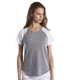 US Blanks US618 Ladies' 4.9 oz. Shirttail Raglan