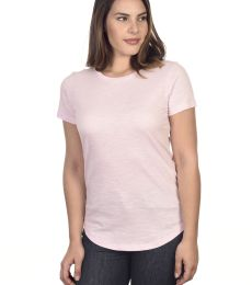 Cotton Heritage W1218 Slubby Scallop Bottom Tee