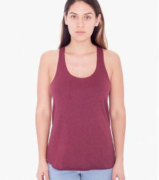 BB308W Ladies' Poly-Cotton Racerback Tank Top