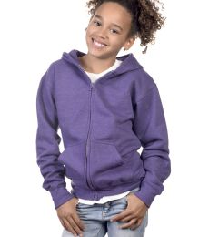 Y2700 Cotton Heritage Spokane Unisex Youth Zip Up Hoodie