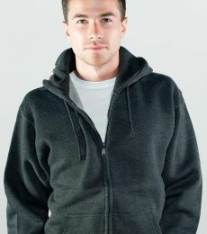 M2740 Cotton Heritage Adult Zip Up Hoodie