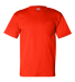 7100 Bayside Adult Short-Sleeve Tee with Pocket Bright Orange